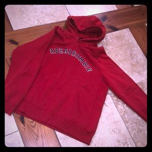 Abercrombie LOGO  hoodie NWOT